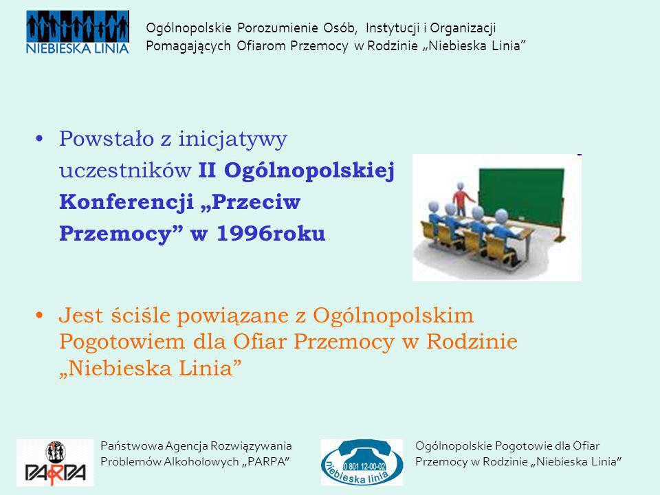 """uczestników II Ogólnopolskiej Konferencji """"Przeciw"""