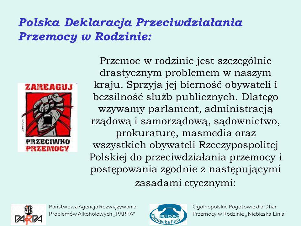 Polska Deklaracja Przeciwdziałania Przemocy w Rodzinie: