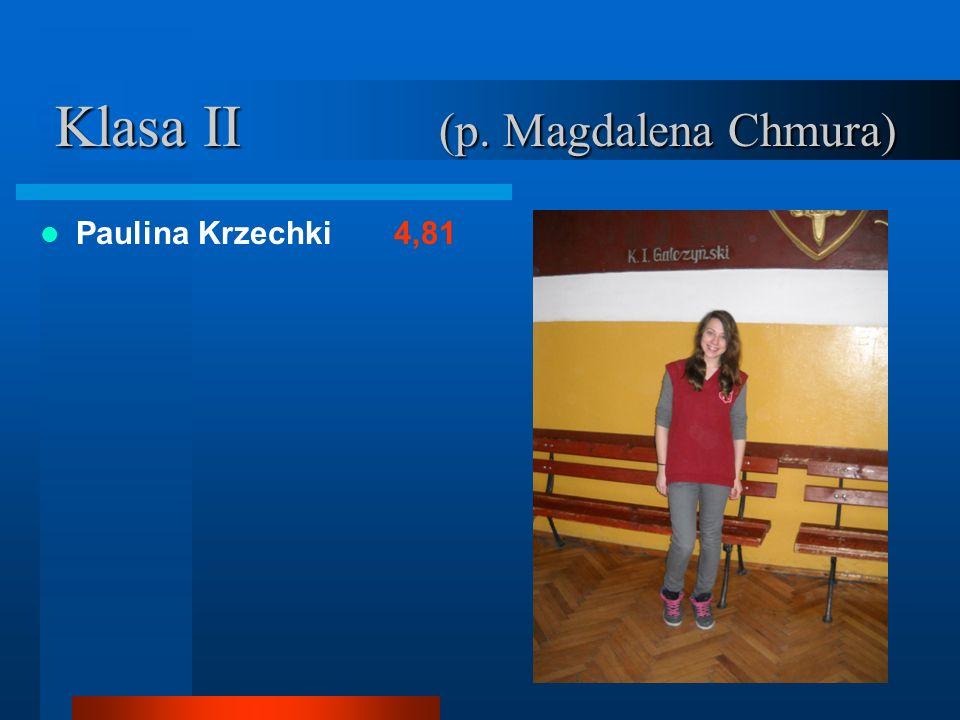 Klasa II (p. Magdalena Chmura)