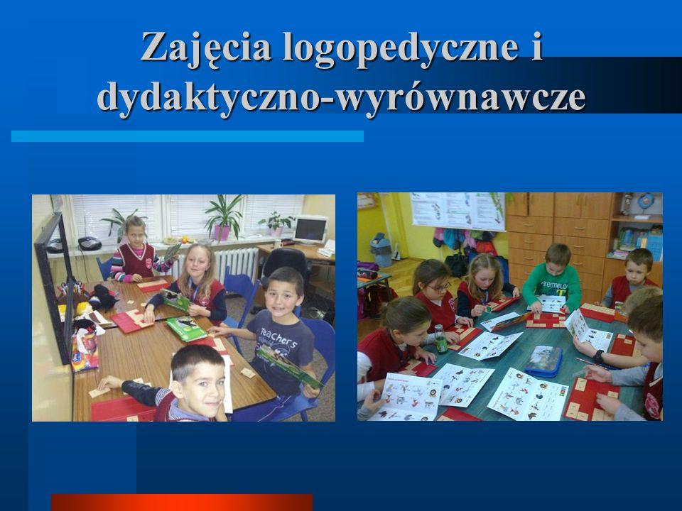 Zajęcia logopedyczne i dydaktyczno-wyrównawcze