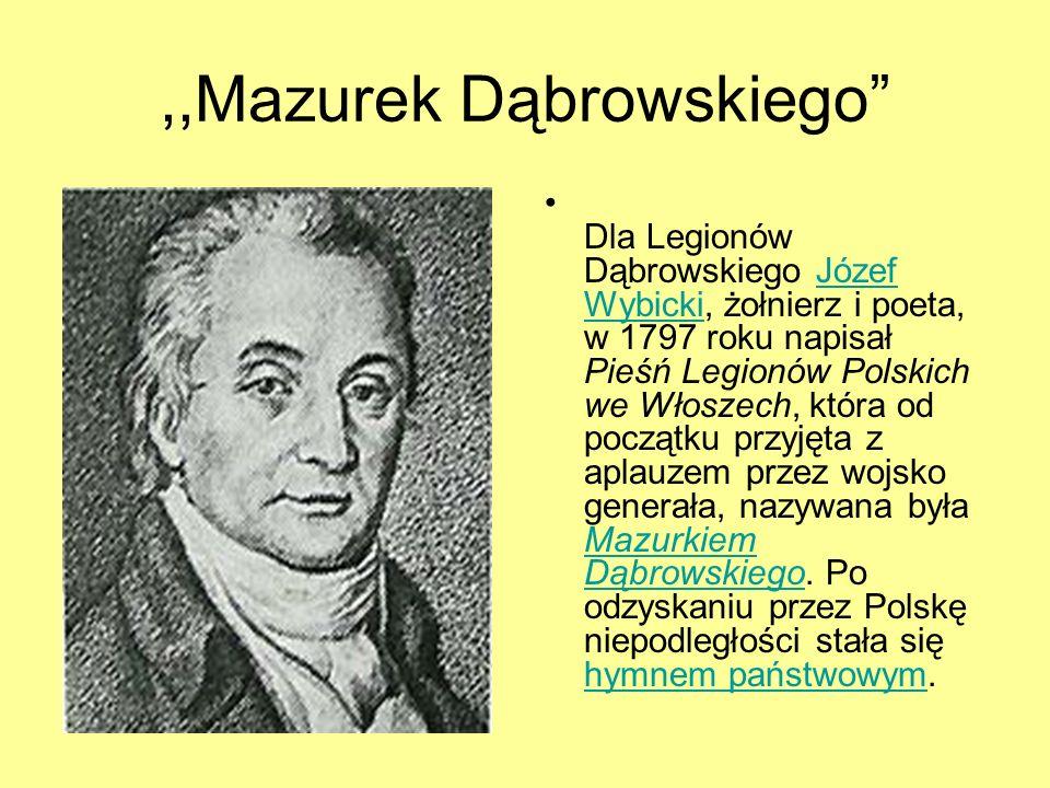 ,,Mazurek Dąbrowskiego