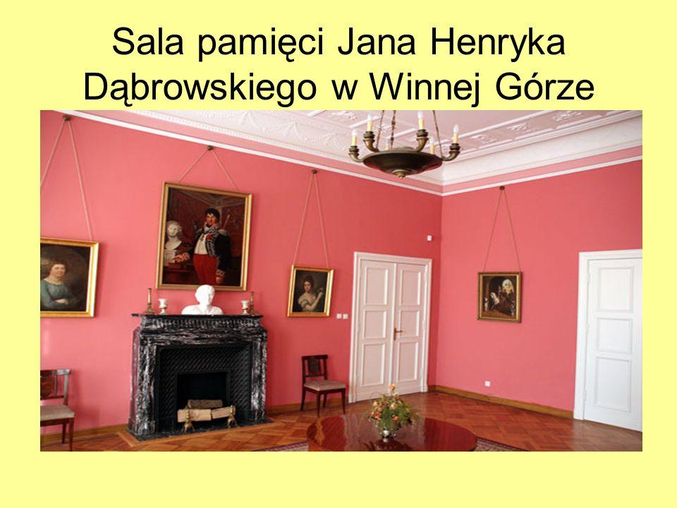 Sala pamięci Jana Henryka Dąbrowskiego w Winnej Górze