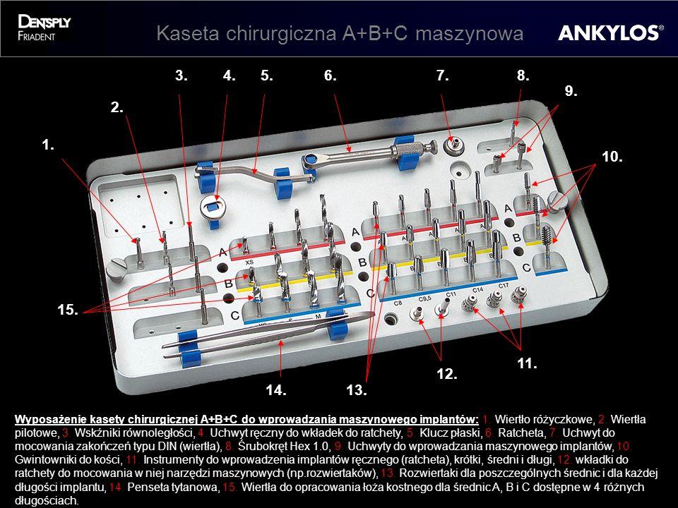 Kaseta chirurgiczna A+B+C maszynowa