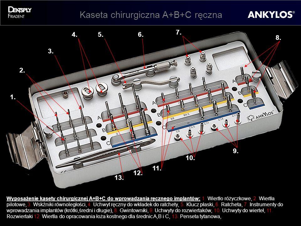 Kaseta chirurgiczna A+B+C ręczna