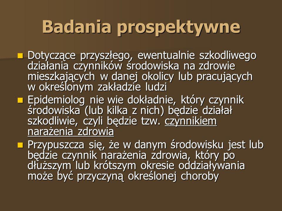 Badania prospektywne