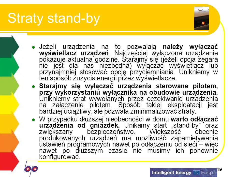 Straty stand-by