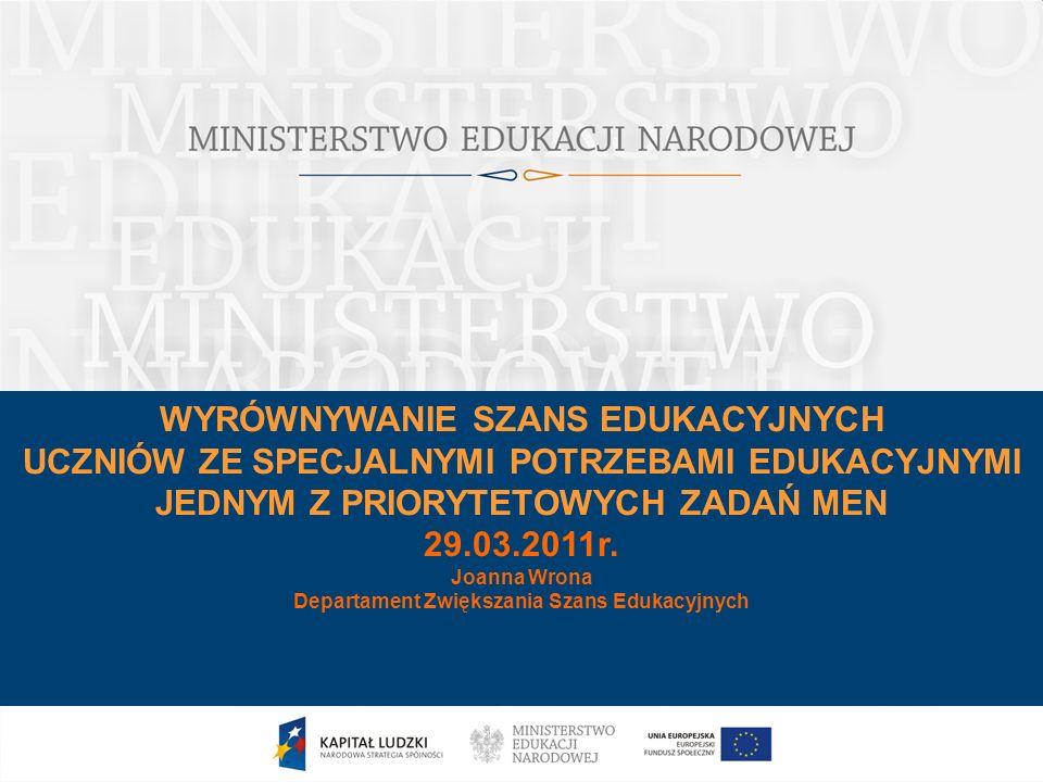 Departament Zwiększania Szans Edukacyjnych