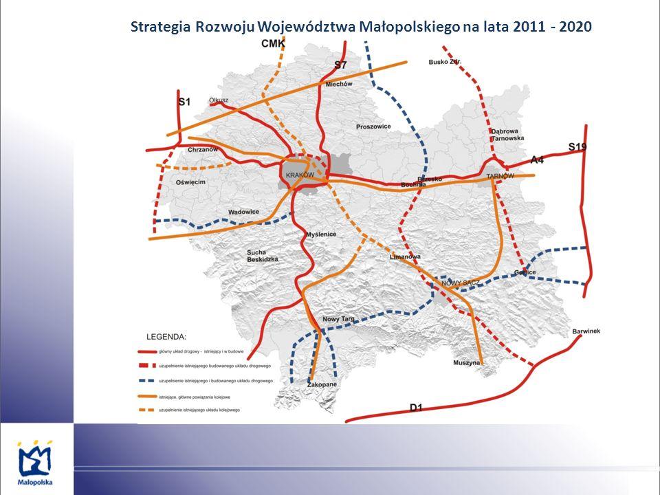 Strategia Rozwoju Województwa Małopolskiego na lata 2011 - 2020