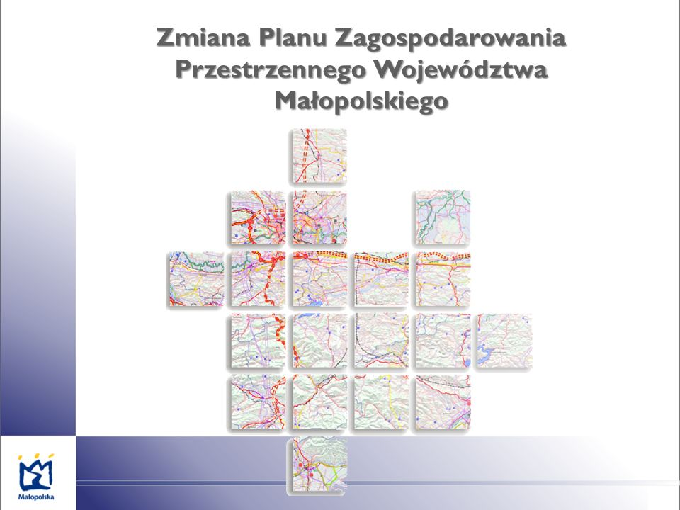 Zmiana Planu Zagospodarowania Przestrzennego Województwa Małopolskiego