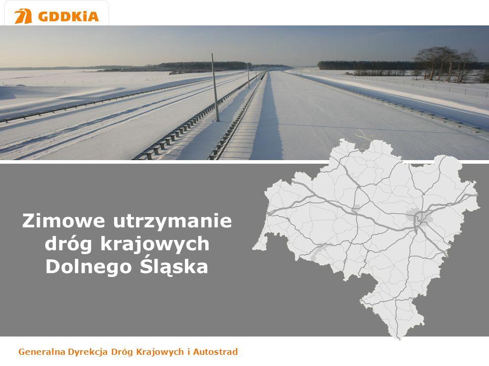 Zimowe utrzymanie dróg krajowych Dolnego Śląska