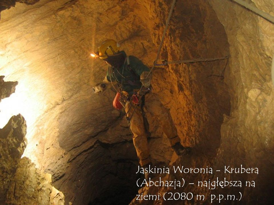 Jaskinia Woronia - Krubera