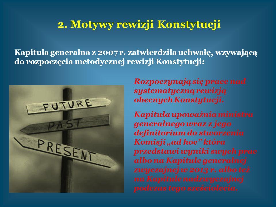 2. Motywy rewizji Konstytucji