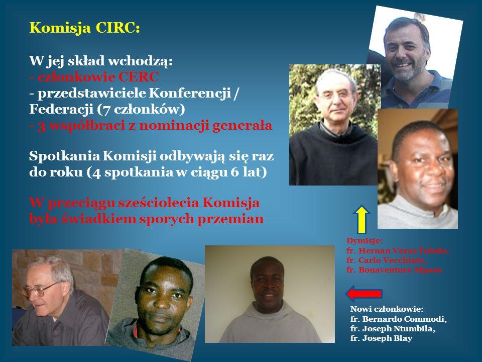 Komisja CIRC: W jej skład wchodzą: członkowie CERC