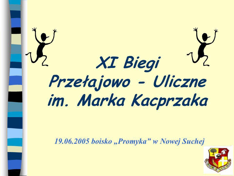 XI Biegi Przełajowo - Uliczne im. Marka Kacprzaka