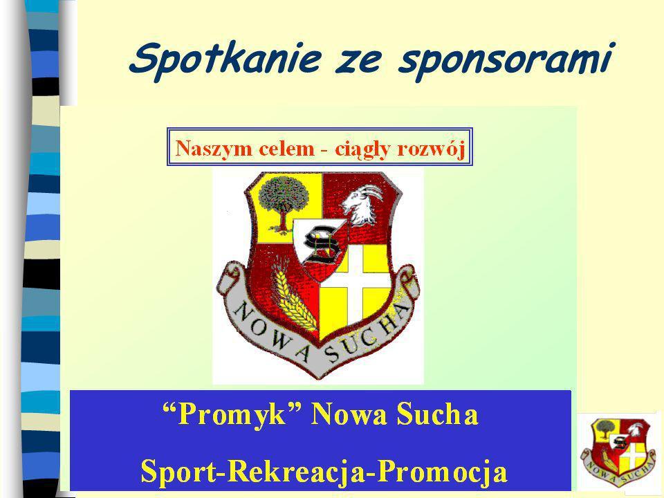 Spotkanie ze sponsorami