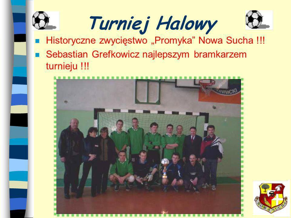 """Turniej Halowy Historyczne zwycięstwo """"Promyka Nowa Sucha !!!"""