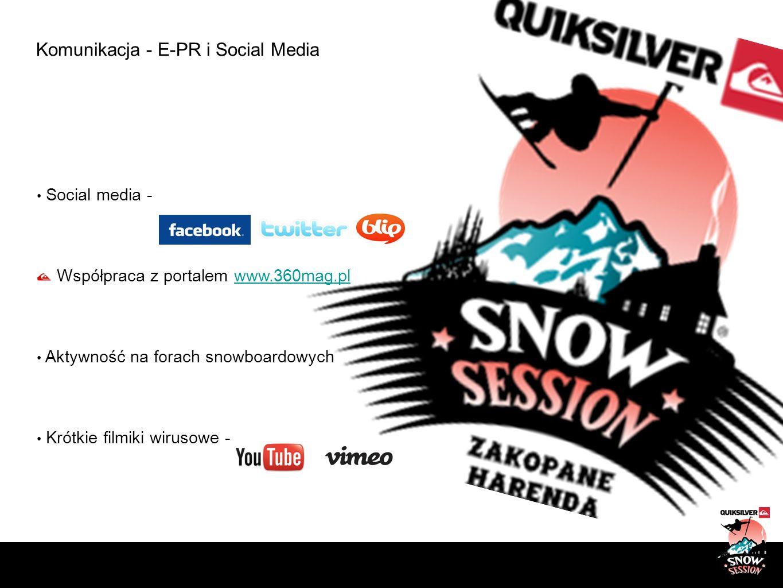Komunikacja - E-PR i Social Media