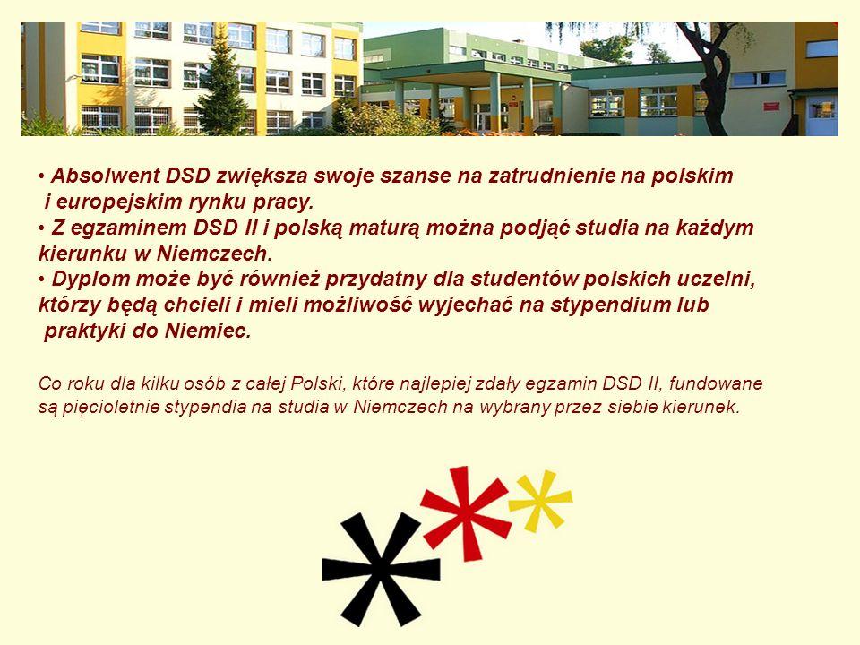 Absolwent DSD zwiększa swoje szanse na zatrudnienie na polskim i europejskim rynku pracy.