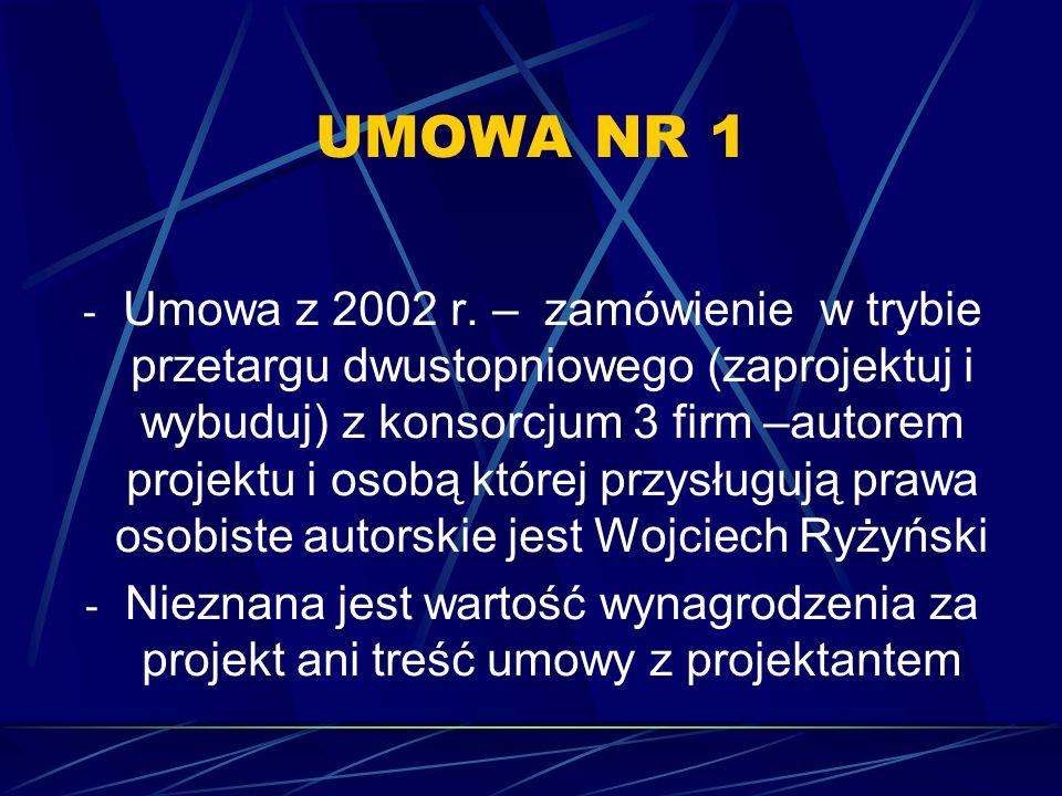 UMOWA NR 1