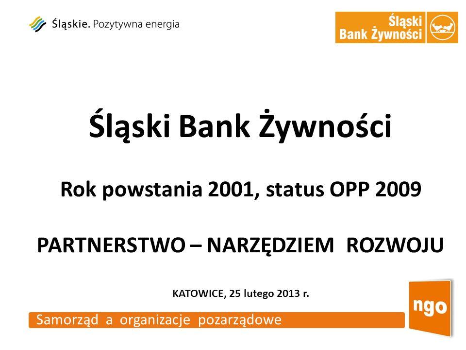 Rok powstania 2001, status OPP 2009 PARTNERSTWO – NARZĘDZIEM ROZWOJU