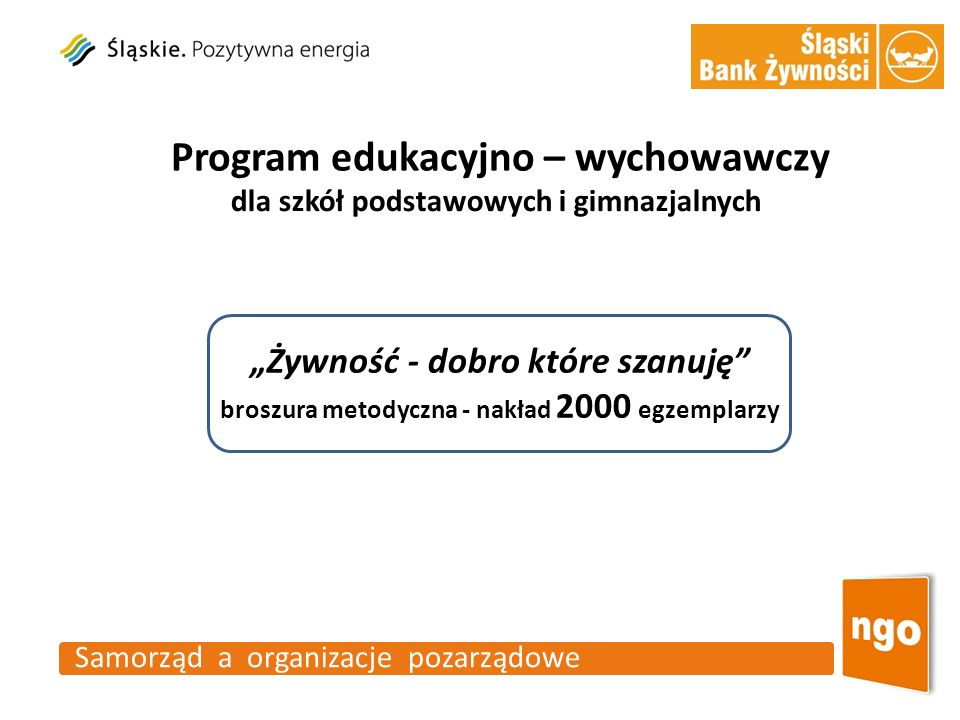 Program edukacyjno – wychowawczy
