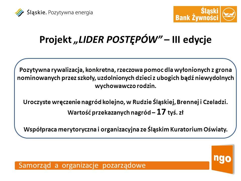 """Projekt """"LIDER POSTĘPÓW – III edycje"""