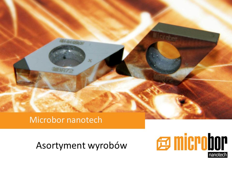Microbor nanotech Asortyment wyrobów