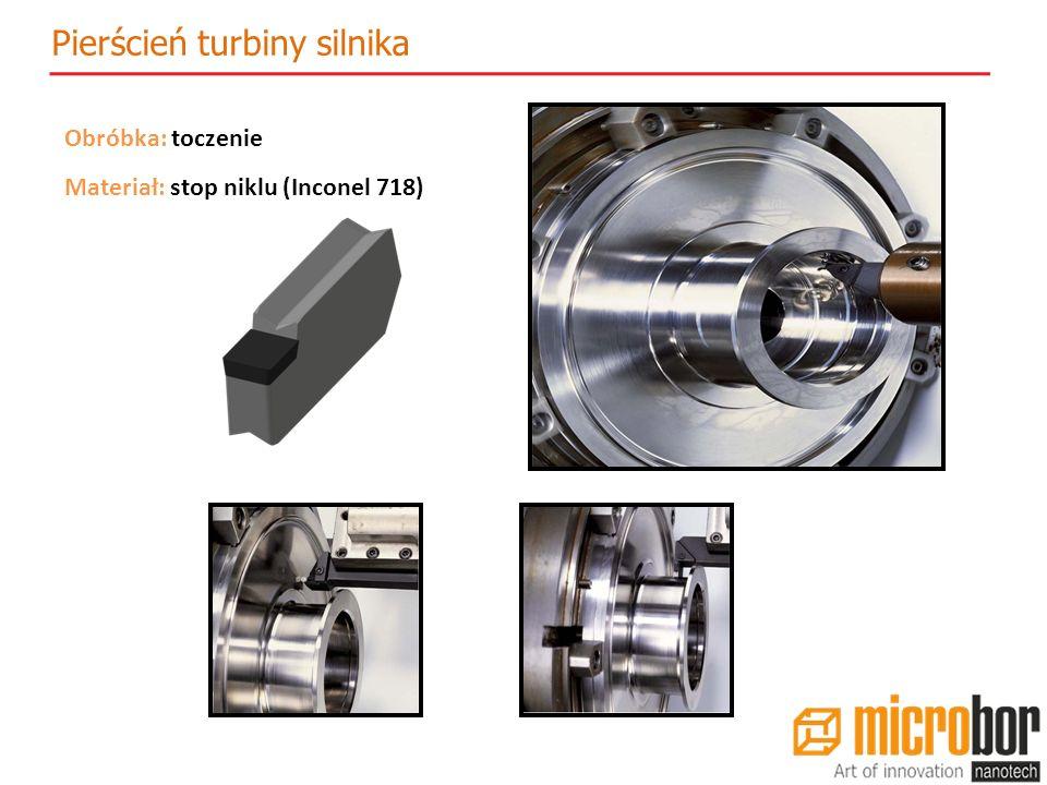 Pierścień turbiny silnika