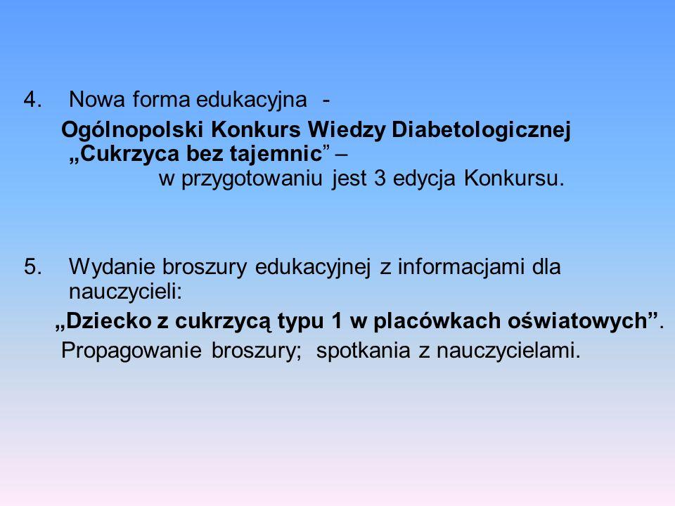 Nowa forma edukacyjna -