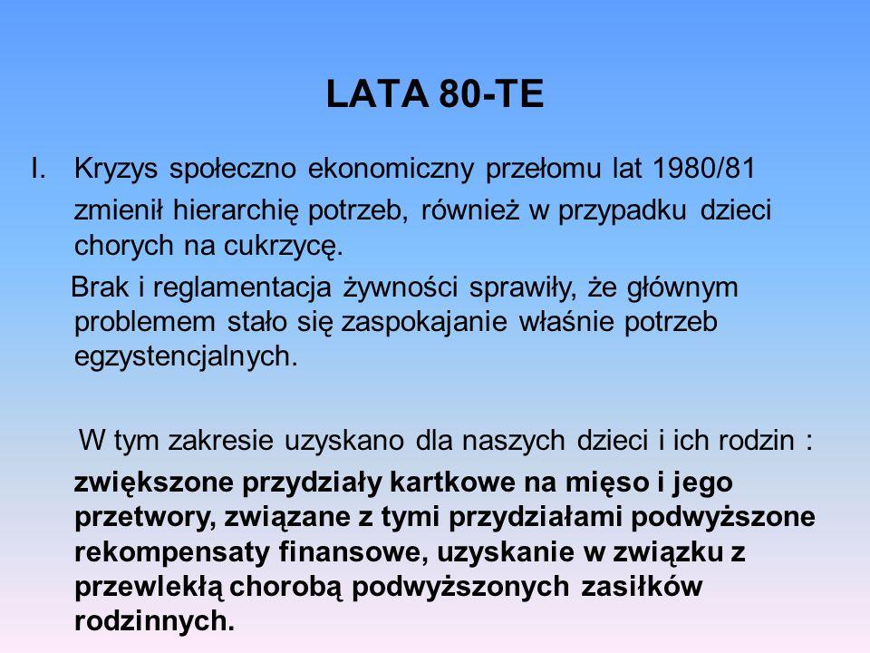 LATA 80-TE Kryzys społeczno ekonomiczny przełomu lat 1980/81