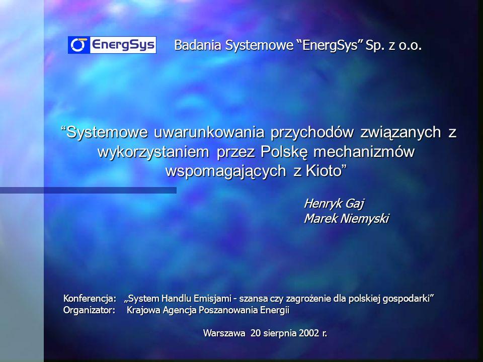 Badania Systemowe EnergSys Sp. z o.o.