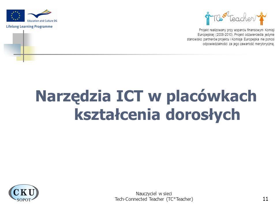 Narzędzia ICT w placówkach kształcenia dorosłych