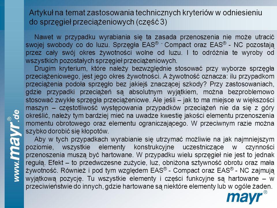 Artykuł na temat zastosowania technicznych kryteriów w odniesieniu
