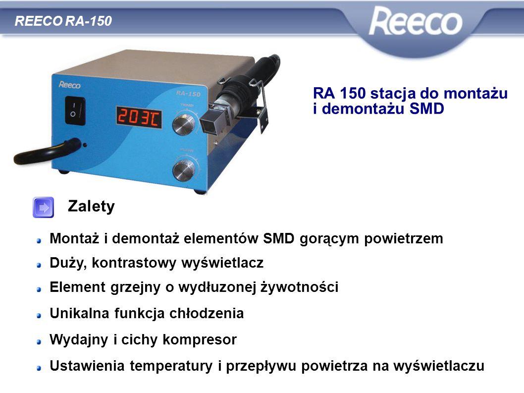 RA 150 stacja do montażu i demontażu SMD