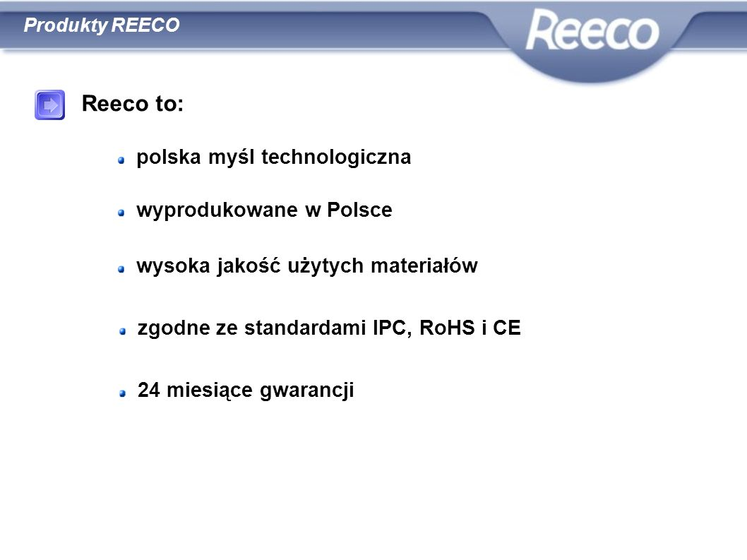 Reeco to: polska myśl technologiczna wyprodukowane w Polsce