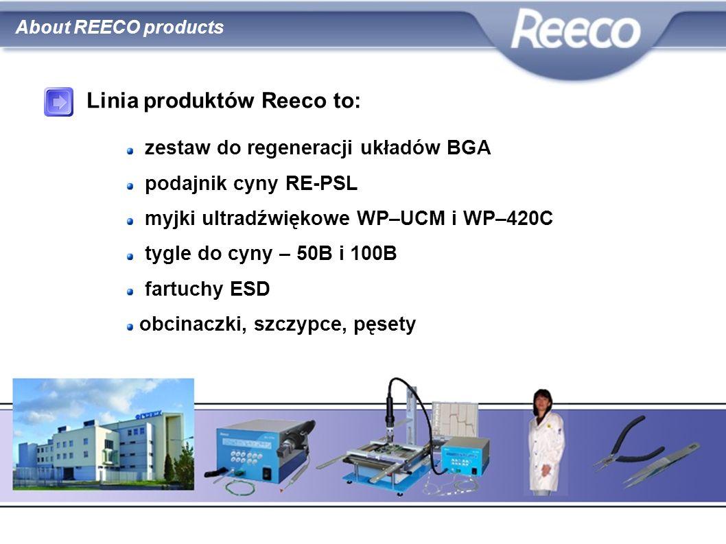 Linia produktów Reeco to: