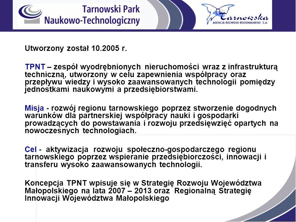 Utworzony został 10.2005 r.