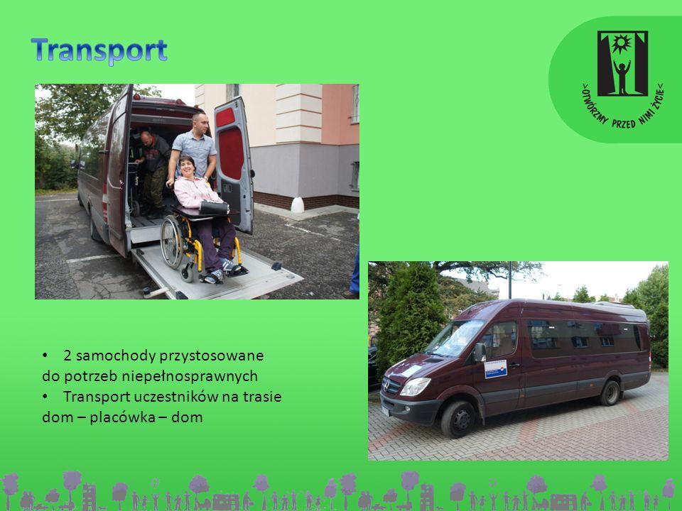 Transport 2 samochody przystosowane do potrzeb niepełnosprawnych