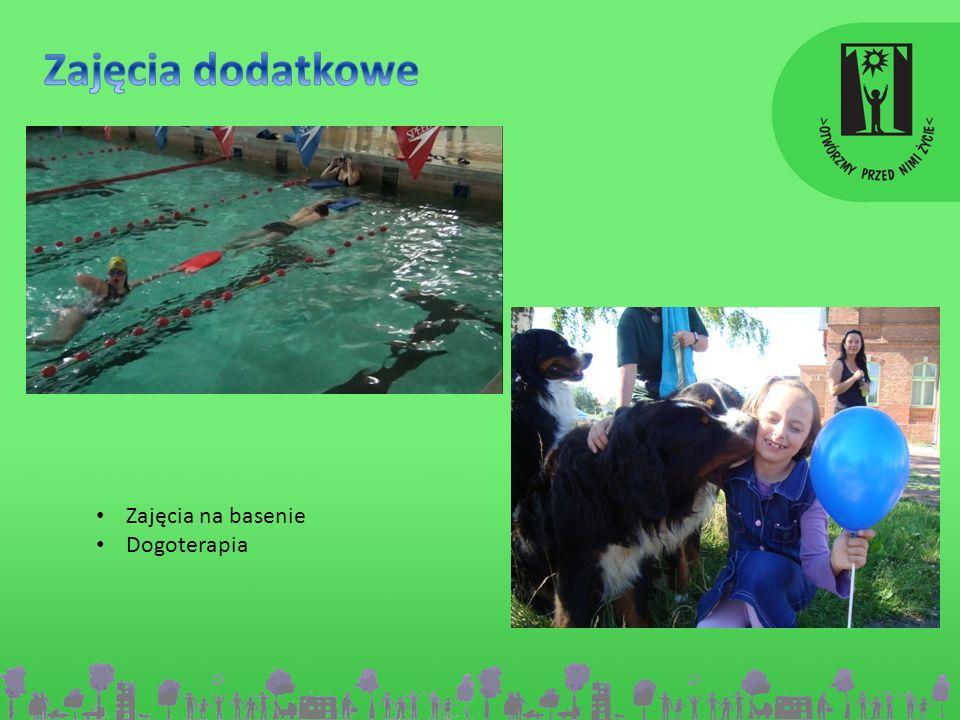 Zajęcia dodatkowe Zajęcia na basenie Dogoterapia