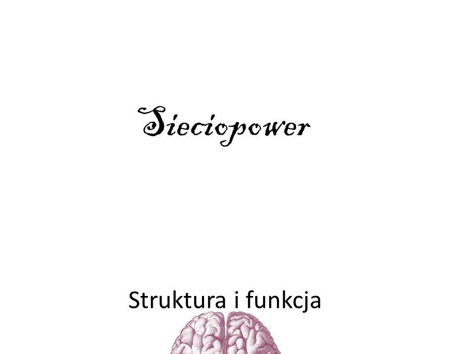 Sieciopower Struktura i funkcja