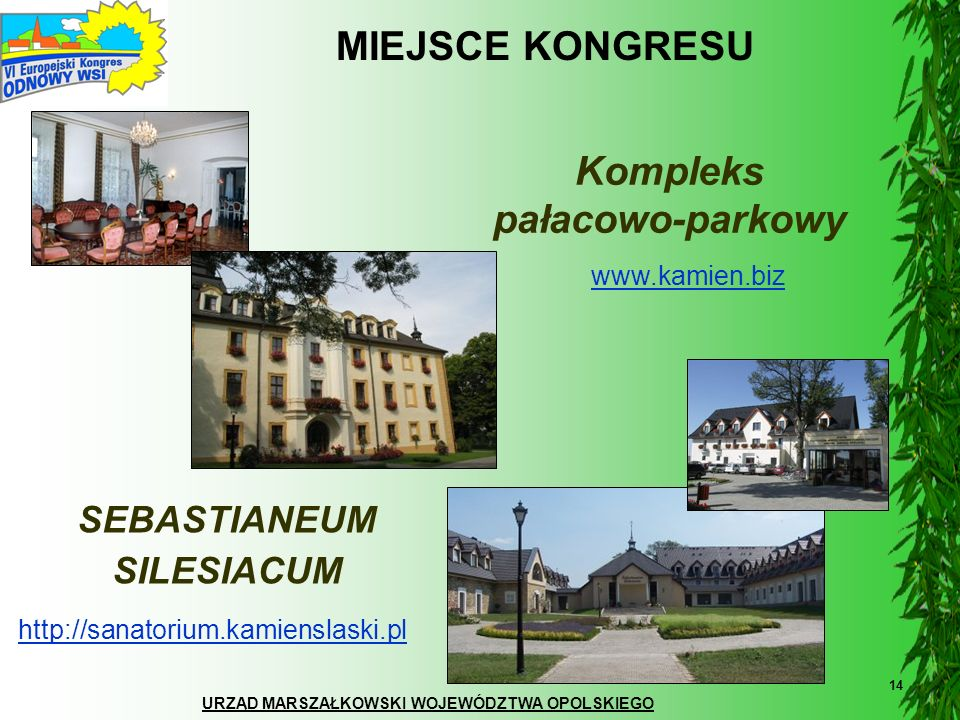 Kompleks pałacowo-parkowy SEBASTIANEUM SILESIACUM