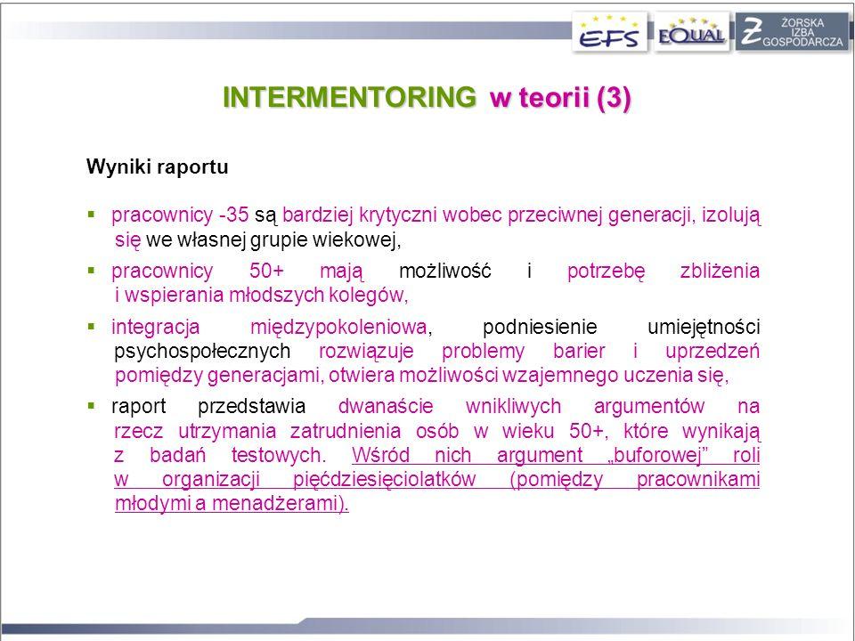 INTERMENTORING w teorii (3)