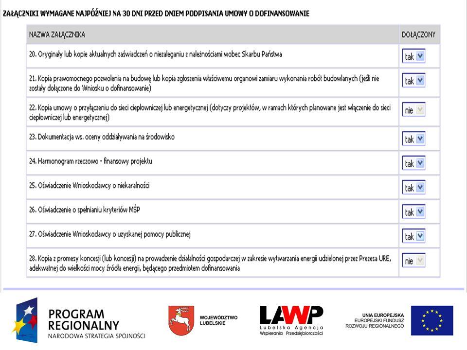 Nabór i Ocena Projektów I i II Oś Priorytetowa RPO WL 2007-2013