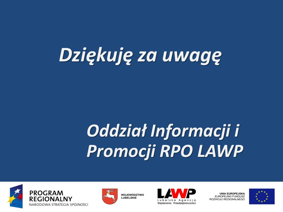 Oddział Informacji i Promocji RPO LAWP