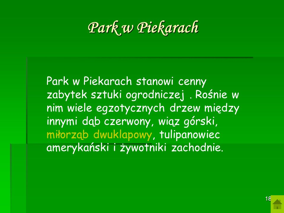 Park w Piekarach