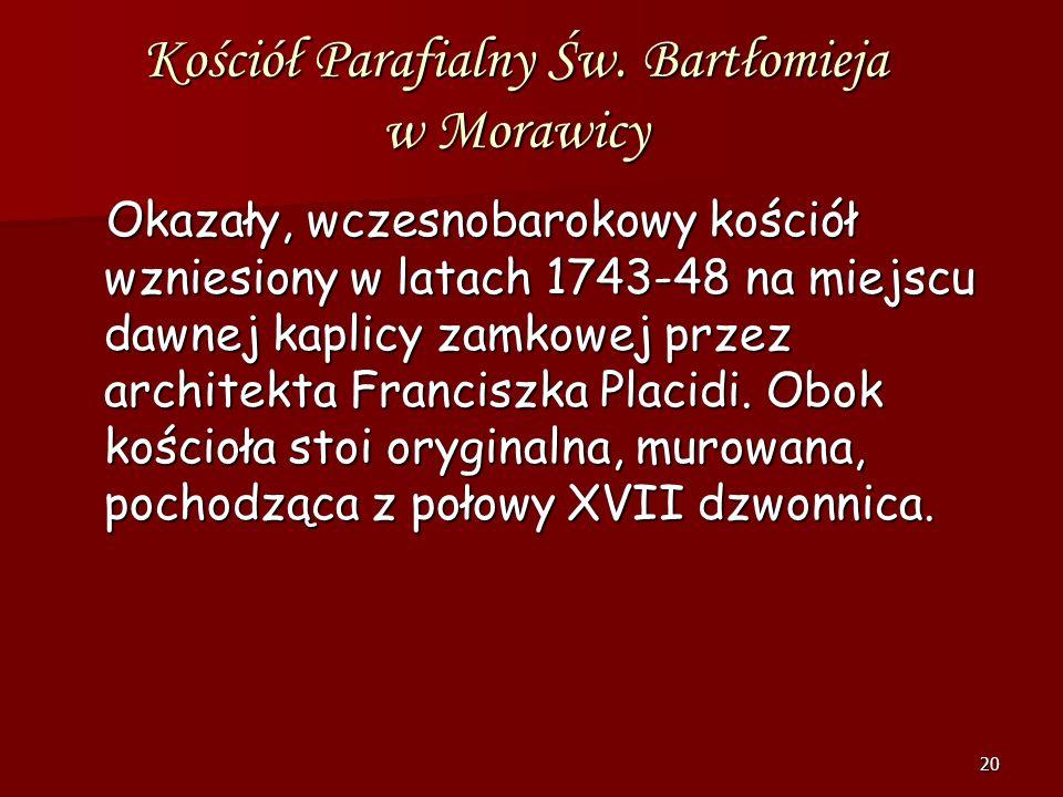 Kościół Parafialny Św. Bartłomieja w Morawicy