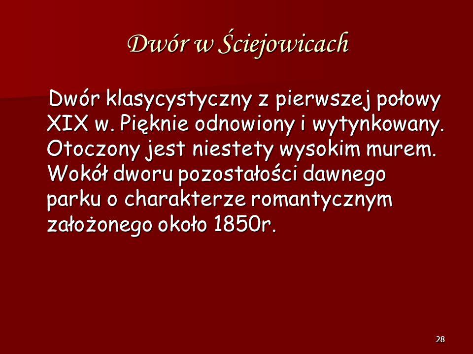 Dwór w Ściejowicach