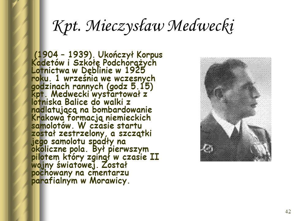 Kpt. Mieczysław Medwecki