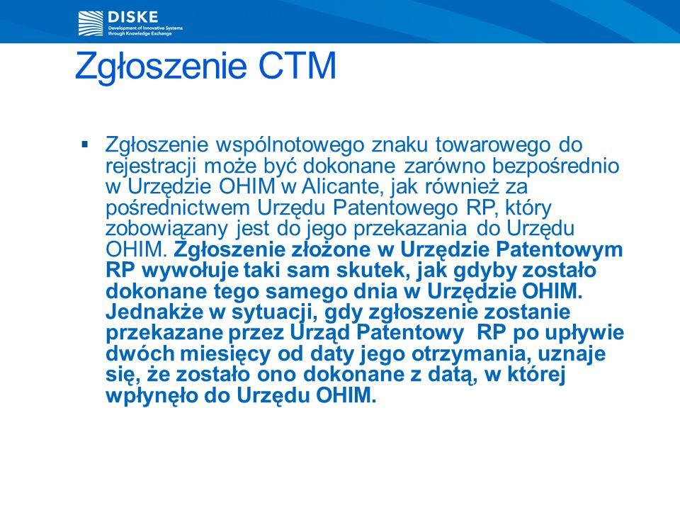 Zgłoszenie CTM