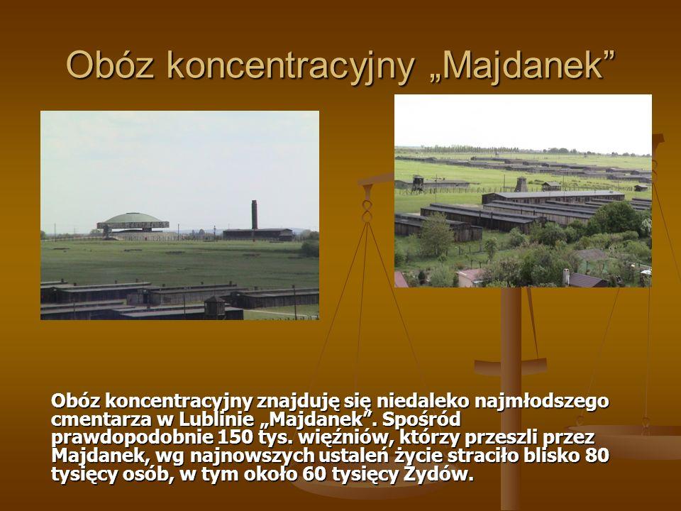 "Obóz koncentracyjny ""Majdanek"